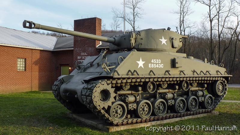 AL Post 793 – Cecil, PA – M4A3(76) HVSS