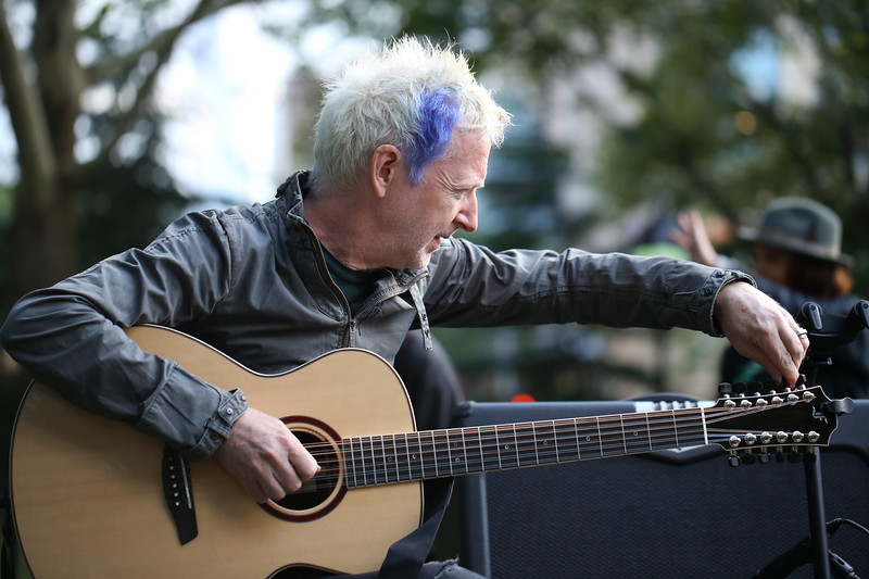 Gerry Leonard, Furches Guitar, Washington Square Park