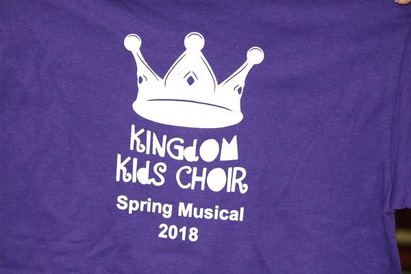 Kingdom Kids Choir Musical 2018