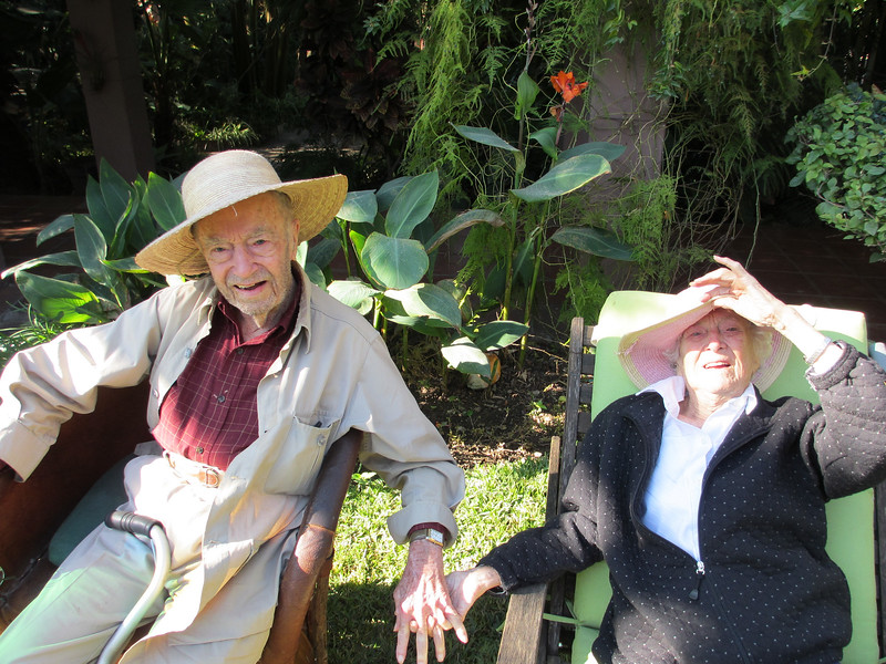 Jean and Cliff in Oaxaca 2012