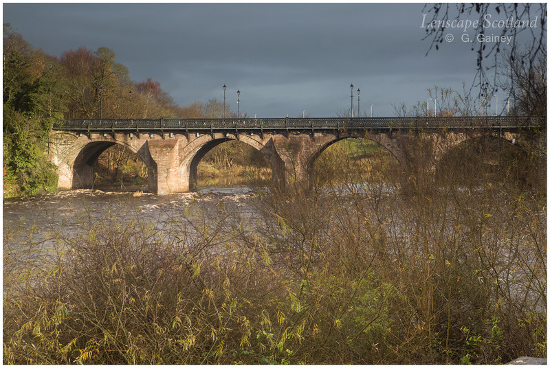 Bothwell Bridge and River Clyde
