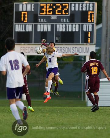9-11-14 Minneapolis Roosevelt v Minneapolis Southwest Boys soccer