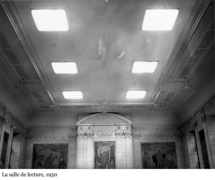 The Reading Room - La salle de lecture, 1950