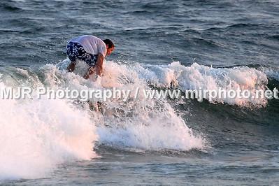 Surfing, No Name Break, NY, (9-18-06)