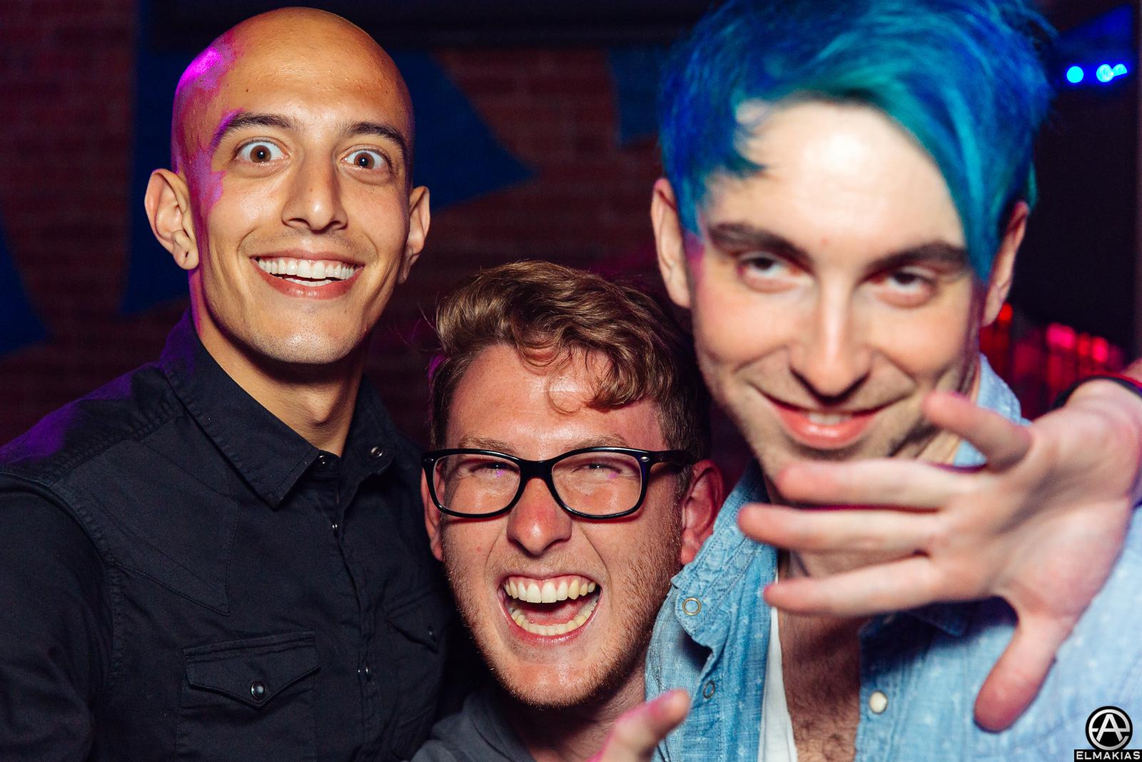 Adam Elmakias, Thomas Falcone and Alex Gaskarth of All Time Low at the 2015 APMAs by Adam Elmakias