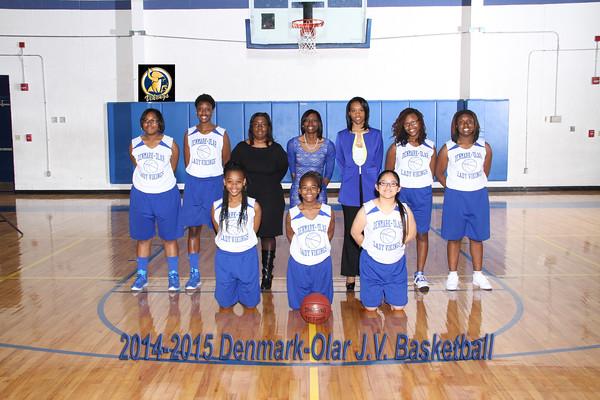 2014-2015 JV basketball girl