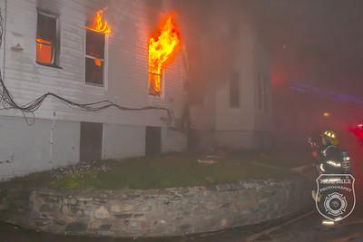 3 Alarm Dwelling Fire - Wyman St, Worcester, MA - 9/18/2020