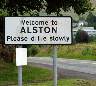 """""""please die slowly"""" - Maybe not so funny!"""