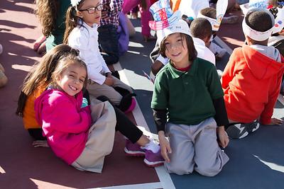 Chester E. Jordan Elementary Veteran's Day event