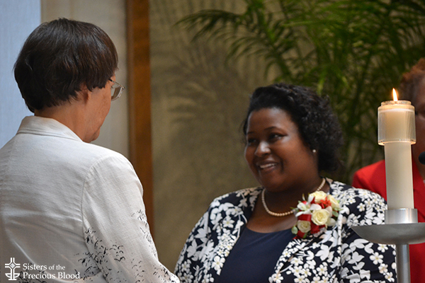 Sister LaKesha Church professes first vows