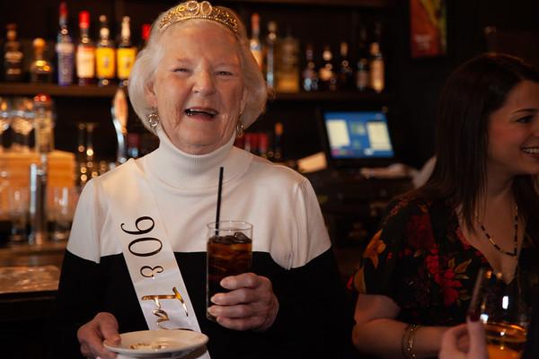 Celebrating Barbara's 90th!