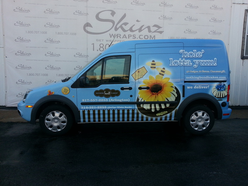 Nothing Bundt Cakes, Ford Transit Connect, Dallas, TX