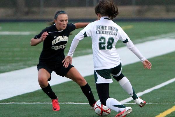 2012-13 HS Girls Soccer vs FtBend 1-7