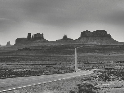 On the Road: Monument Valley, Utah