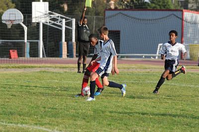 U14 Boys Soccer vs Bingham 2013.12.16
