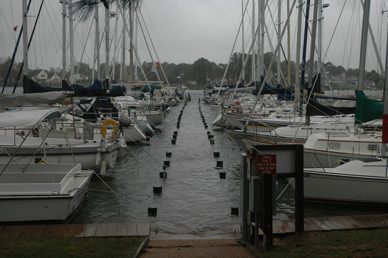 Jackson Creek dock.