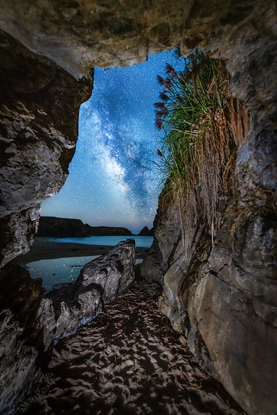 Cooks Cave & Milky Way, Gualala, Califirnia