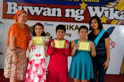 Buwan ng Wika 2014 Pagdiriwang ng Grades 4-6