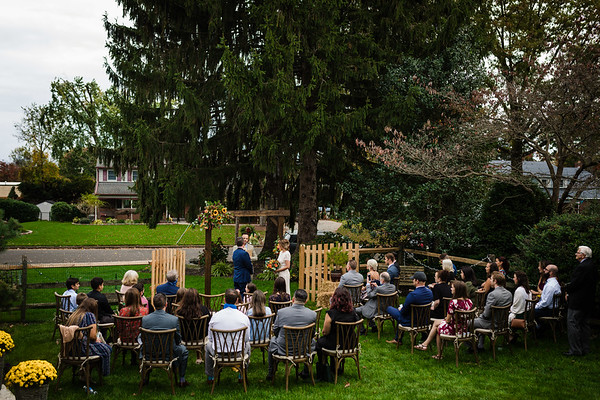 Dana + Mike | Backyard Micro Wedding | 10.24.2020