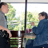 Coffe w Cops - Ofcr Thibodeau, Connie Patrick