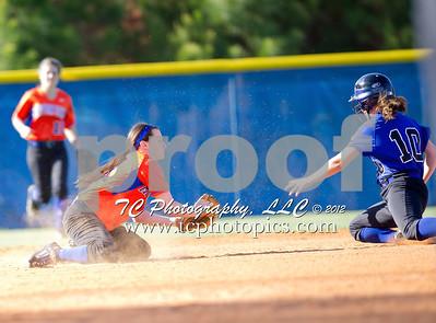 2012 -  Varsity Girls Softball