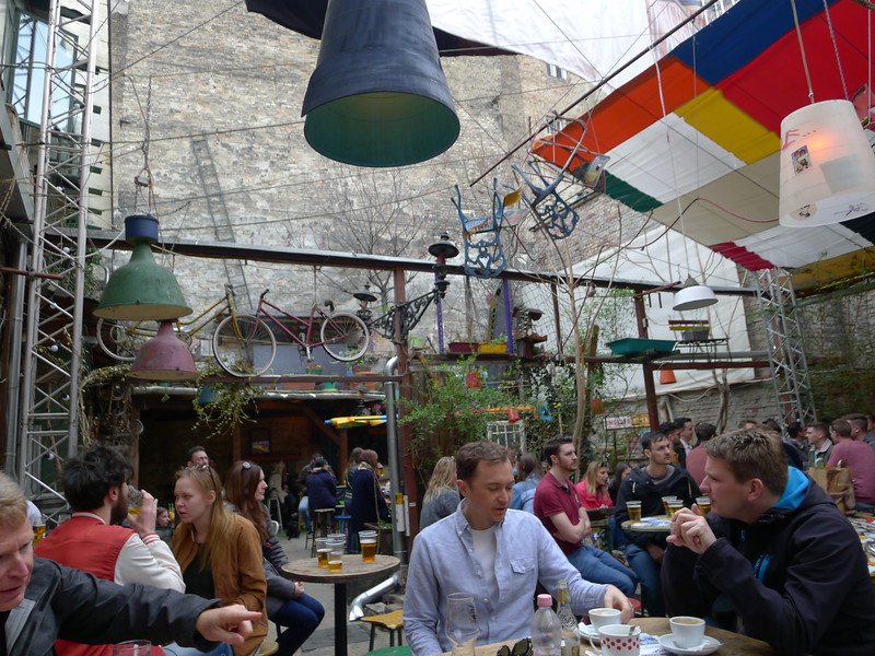 The best ruin bar in Budapest!