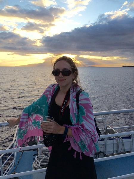 Chris's Phone: Maui, Sunset Dinner Cruise.