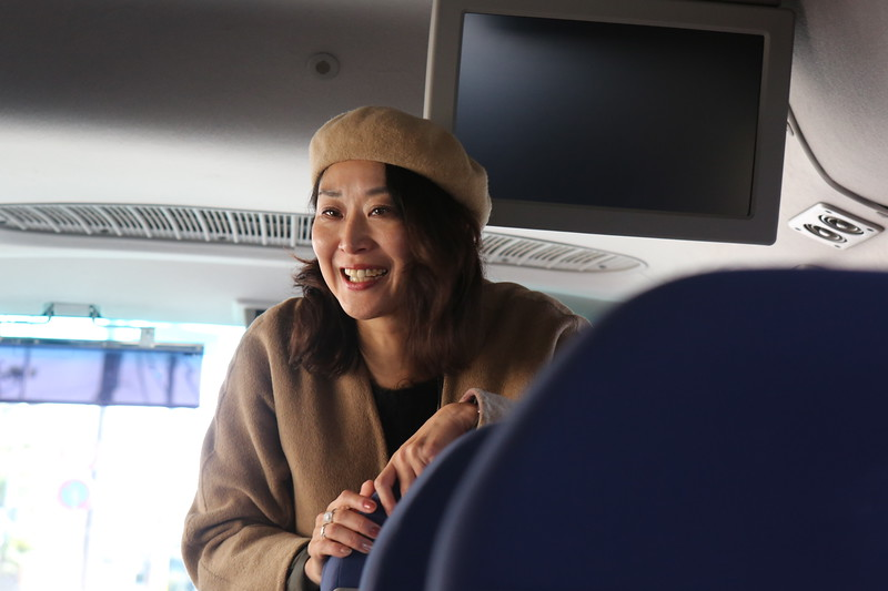 Akie Sensei, our personal guide for Kyoto & Japanese culture.
