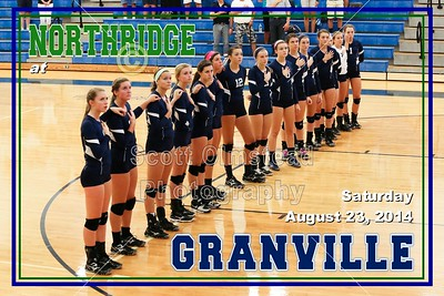 2014 Northridge at Granville (08-23-14) VARSITY