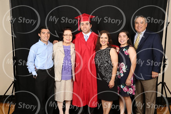 Graduates and Family (Before Commencement)
