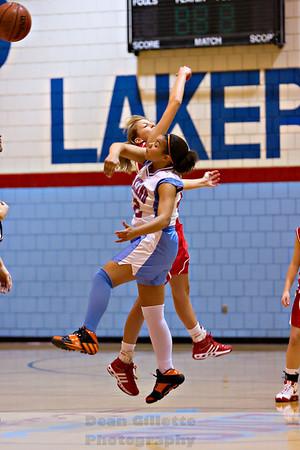 Westview 8th Grade Girls v Lakeland