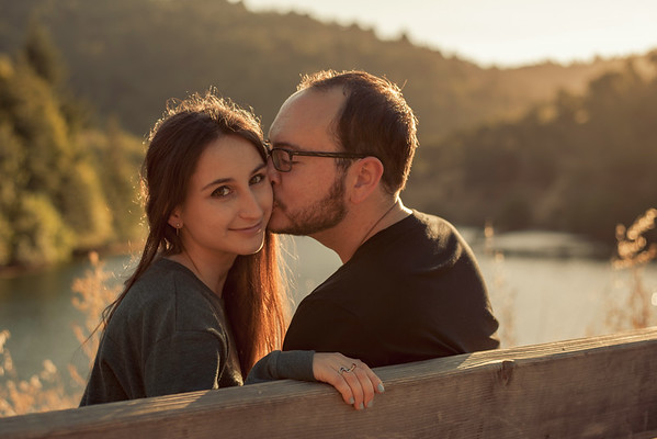 Max and Eleonora Engagement Shoot