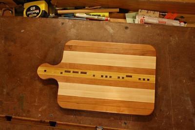1st Cutting Board (JESUS)