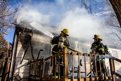 House Fire 5147 N Valentine (1/20/14)
