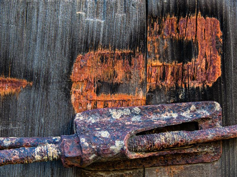 Door, Picchetti Winery , Cupertino, California, 2009