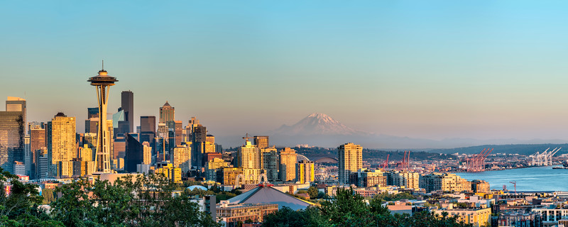 Beautiful Afternoon in Seattle