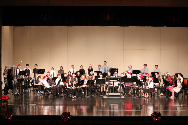 TMS 6th Grade Band Holiday Concert 2011