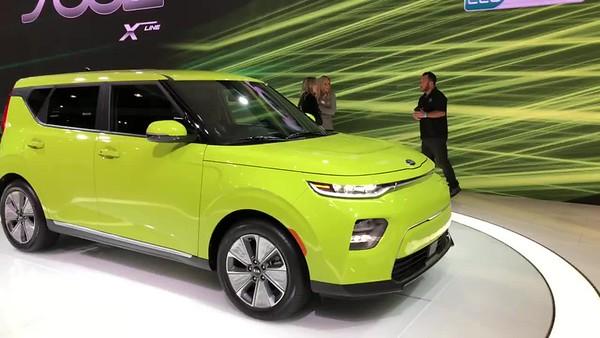 L.A. Auto Show/Nov. 2018 - New Kia Soul EV