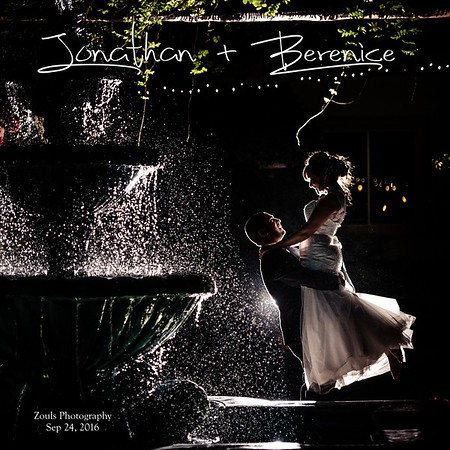 Jonathan & Berenice Wedding Book