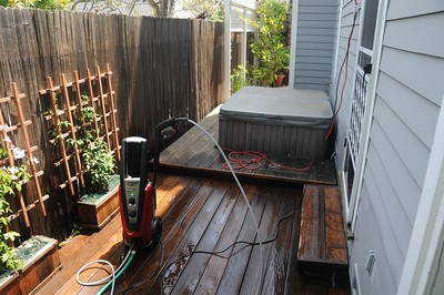 183 Bryant - 2008 Deck Restoration Project