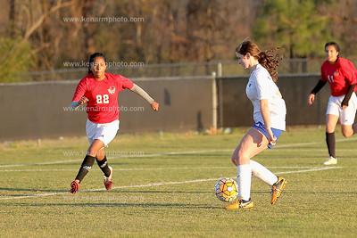 East Bladen 3 3 2017 girls soccer