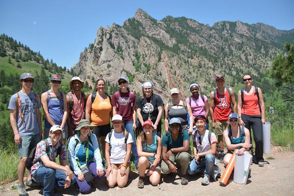 University of Colorado Geology Field Trip