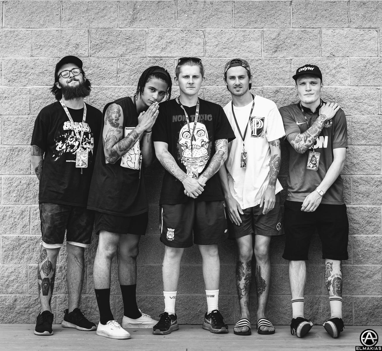 Neck Deep at Vans Warped Tour 2015 by Adam Elmakias