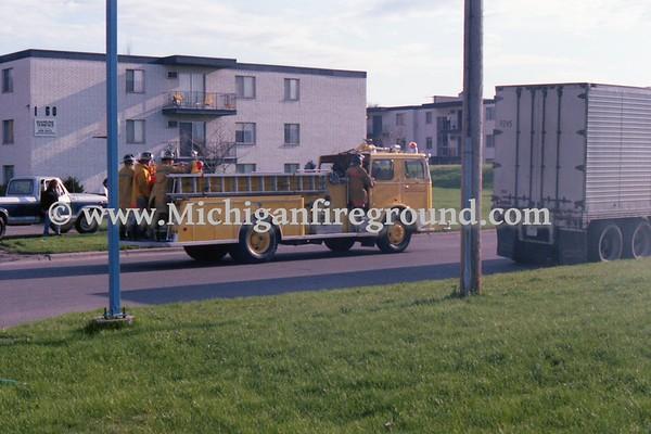 5/13/79 - Roseville, Minnesota fire in a commercial building, 2797 N. Hamline
