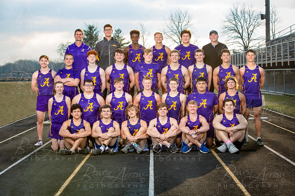 2019 Boys Track and Field Team