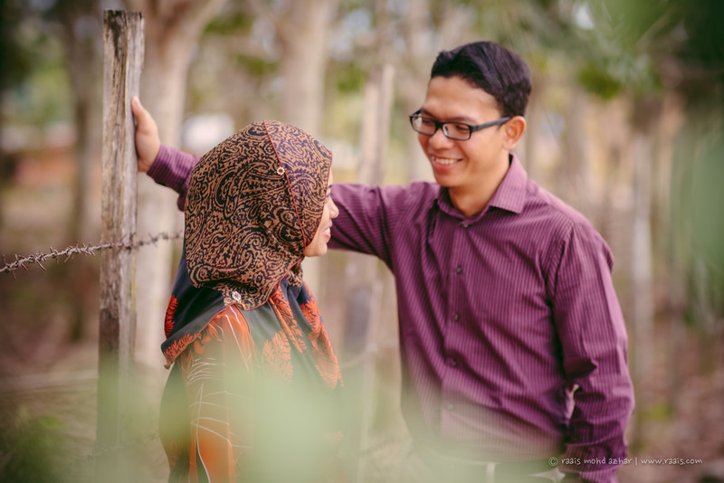 Firdaus & Zuhairah Outdoor dan Majlis Pertunangan
