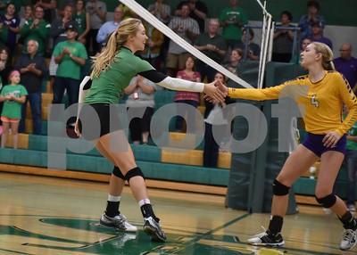 9/15/16 Eagle Grove @ St. Edmond Volleyball