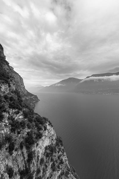 Lake Garda - Tremosine, Brescia, Italy - October 18, 2019