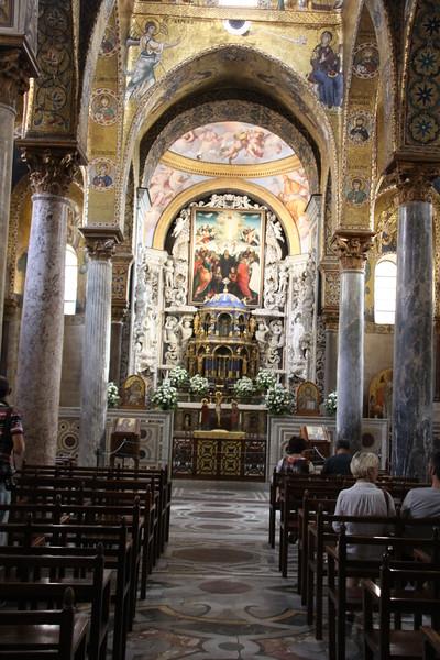 La Martorana church in Piazza Bellini, Palermo