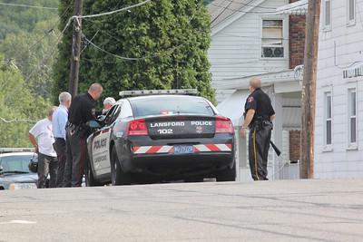 Police Response, Howard Ave, Coaldale (8-24-2011)